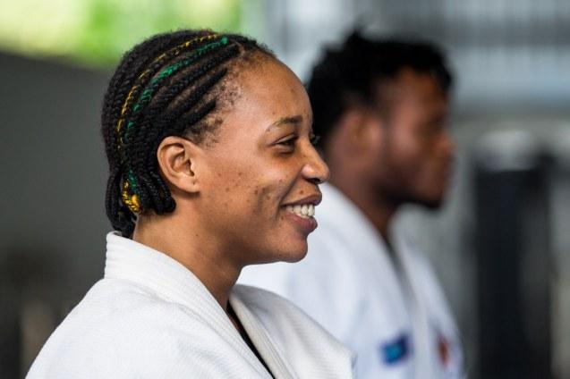 strutura de treinamento Yolande Mabika no Instituto Reação, que lhe abriu as portas aos Olímpicos do Rio © Miriam Jeske | Brasil2016.gov.br